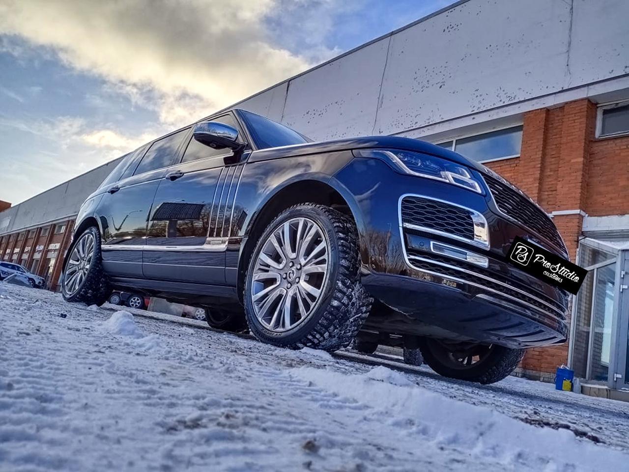 Range Rover керамическое покрытие