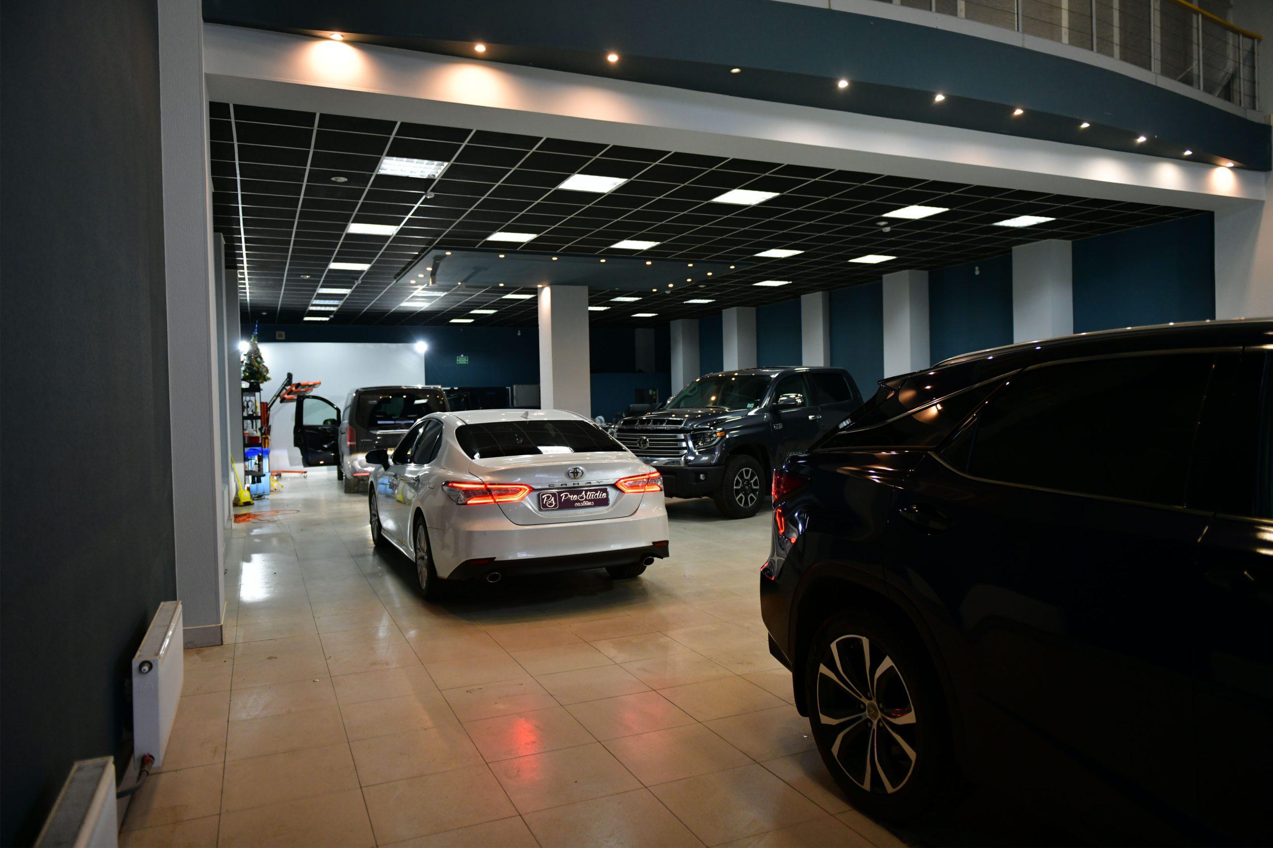 Toyota Camry в студии ProStudio Customs