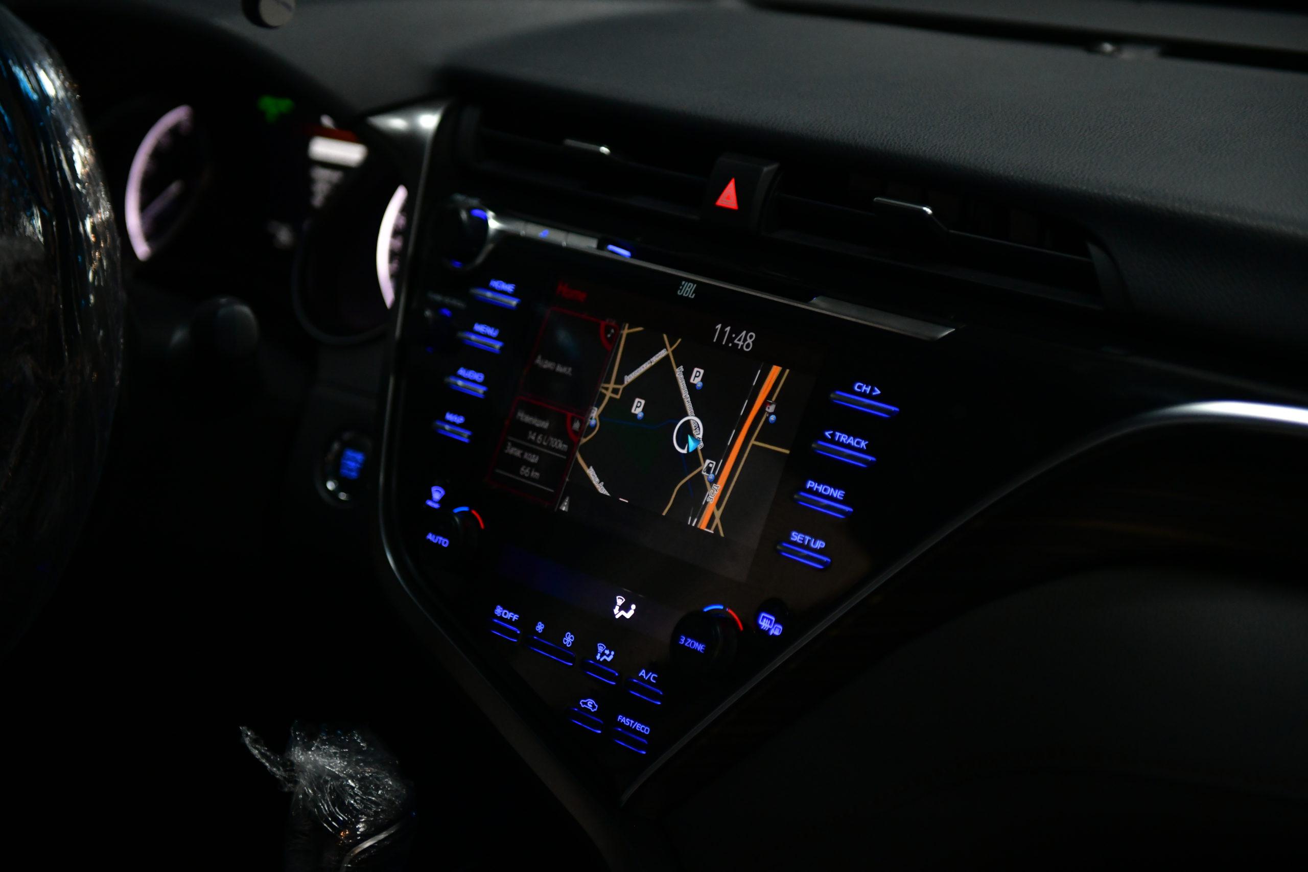 Видеоинтерфейс Toyota Camry V70