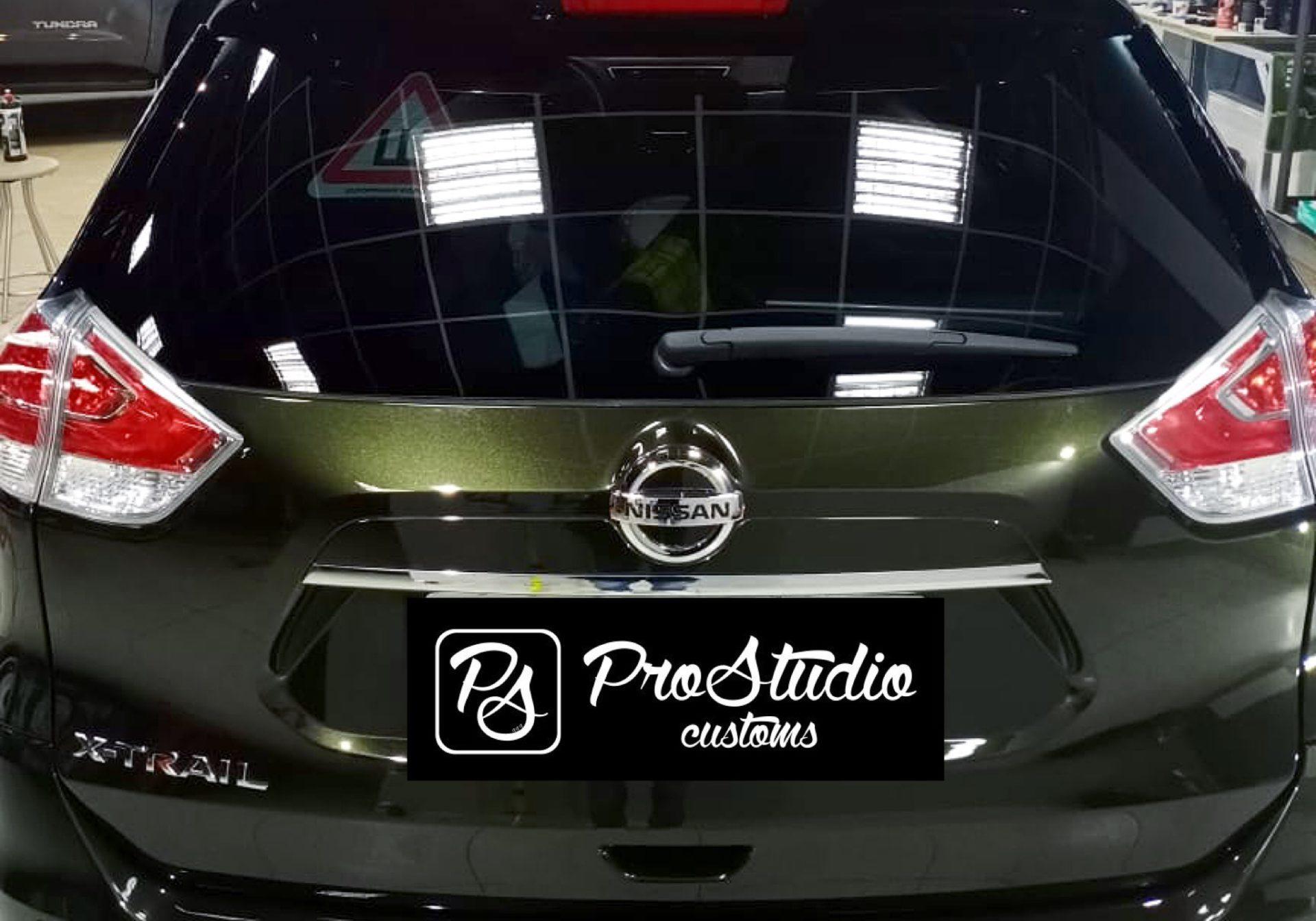 Nissan X-Trail детейлинг